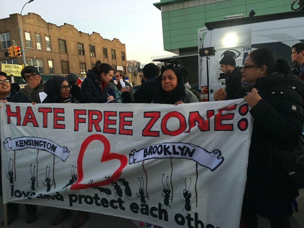 hate-free zone
