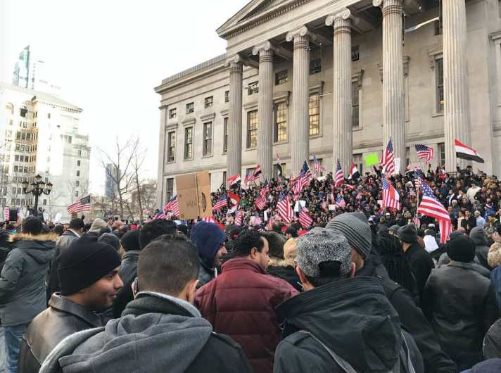 Yemeni-Americans protest