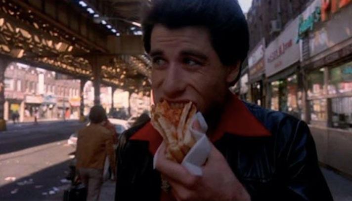 Resultado de imagen de Saturday night fever pizza