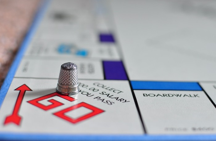monopoly thimble