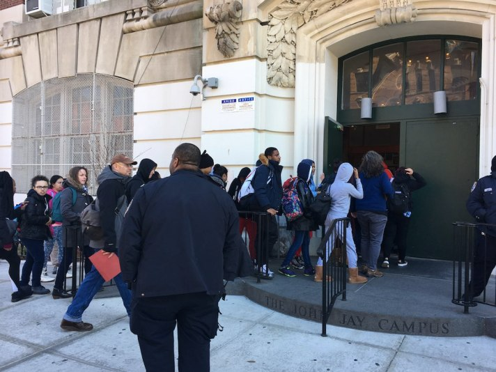 Bomb Scare at Millennium Brooklyn High School