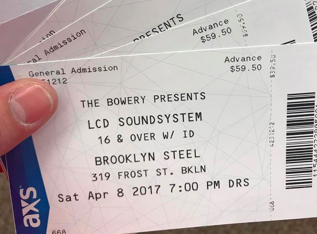 lcd soundsystem tickets