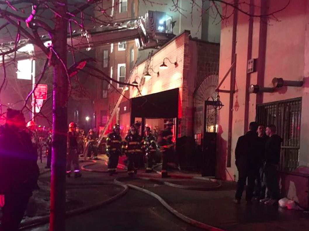 union hall fire