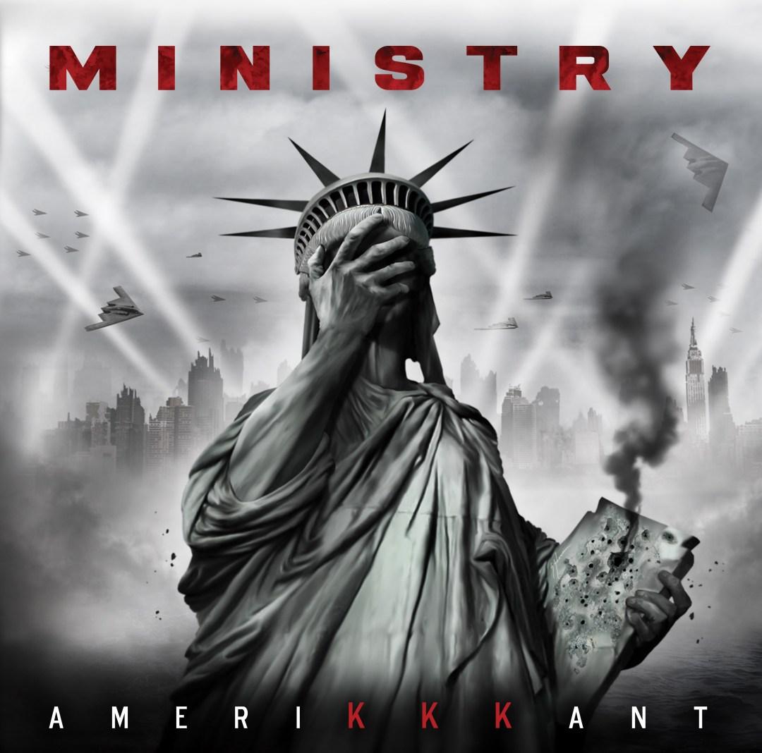 Ministry Amerikkkant album cover