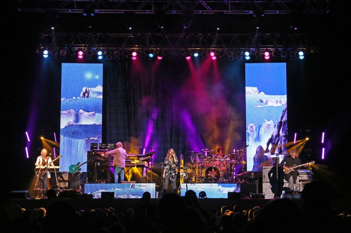 Yes play their 50th Anniversary tour